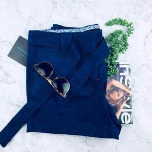 CYNTHIA ROWLEY Newyork. High waist Blue Short